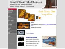 Instrumentmager Robert Thompson
